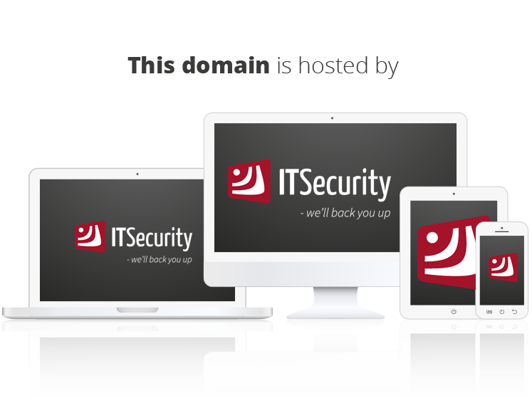 This domain is hosted by ITSecurity